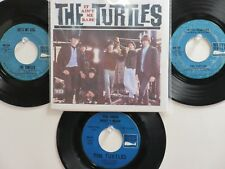 LOT OF 4 ' THE TURTLES ' HIT 45's+1P(Copy)[It Ain't Me Babe]   THE 60's !