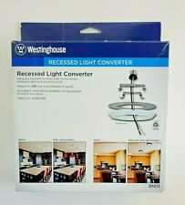 One (1) WESTINGHOUSE White Recessed Light Converter (#01011) - New In Box