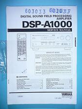 Service Manual-Istruzioni per Yamaha dsp-a1000, ORIGINALE
