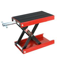 "1100 lb Scissor lift  lifting platform jack for motorcycle ATV Max Height 13.25"""