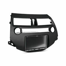 2008-12 Honda Accord Single/Double DIN Dark Gray Stereo Dash Kit with Pocket