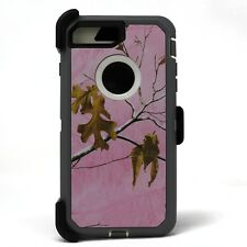 iPhone 8 Plus 7 Plus Case with Screen Protector Belt Clip Fits Otterbox Defender