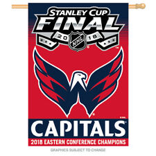 2018 Eastern Conference Champions Stanley Cup Banner Washington Capitals