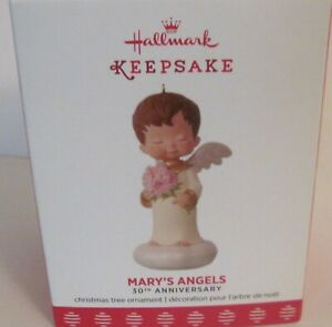 2017 HALLMARK - MARY'S ANGELS - 30TH ANNIVERSARY - PORCELAIN -  MINT IN BOX