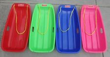 TOBOGGAN SNOW SLED LARGE PINK/BLUE/RED/GREEN 4 for $80 plus Postage