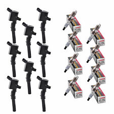Set of 8 Aftermarket Ignition Coil AF029 (R-DG508) & Motrocraft Spark Plug SP493