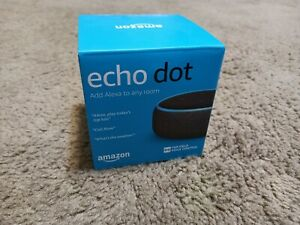 NEW Amazon Echo Dot Smart Speaker Alexa Voice 3rd Gen 3rd Generation Charcoal