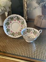PARAGON TEA CUP AND SAUCER  COMMEMORATIVE E&P OCT 1951 CANADA VISIT