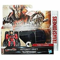 Transformers The Last Knight 1-Step Turbo Changer Cyberfire Autobot Drift