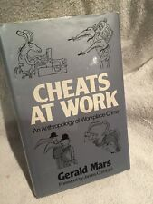 Signed First Edition Cheats at Work by Gerald Mars Hardback 1982
