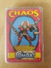 Citadel combat cards vintage Warhammer chaos games workshop