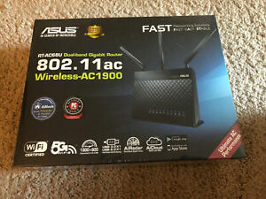 ASUS RT-AC68P AC1900 Dual Band Gigabit Wireless 802.11AC Router New Sealed Box
