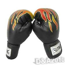 Pro MMA Ultimate Fight Grapple Punching Muay Thai Boxing Gloves Training 16OZ
