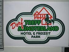 Aufkleber - Dorf Münsterland - Disco - Freizeit - Hotel - Park (1571)