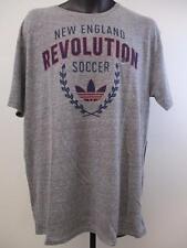 New MLS New England Revolution Mens XL X-Large  Grey T-Shirt MSRP $30