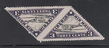 Liberia # C3C MNH IMPERF BETWEEN PAIR Triangle Airpalne