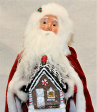 Byers Choice Open House Anniversary Santa 2020 Caroler - New Free Shipping