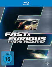 7 Blu-rays * THE FAST & FURIOUS  1 - 7 ~ BOX ~ (and) # NEU OVP +