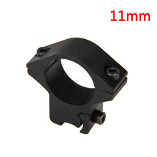 1x 11mm Rail Picatinny Offset Ring flashlight Laser Sight Scope Mount Rifle M1EG