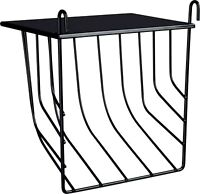 60905 Trixie Hanging Hay Manger + Lid For Rabbit, Guinea Pig & Pet's Cages