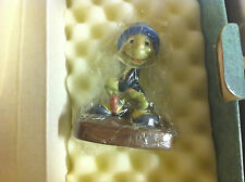 """WDCC Pinocchio """"Crickets the Name, Jiminy Cricket""""   – 1993 Members Only– MIB"""
