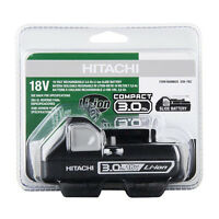 Hitachi Black Case 18-Volt 3.0-Amp Hours Lithium Power Tool Slide Battery