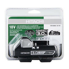 Hitachi Black Case 18-Volt 3.0-Amp Hours Lithium Power Tool Slide Battery