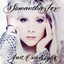 Samantha Fox : Just One Night CD (2012) ***NEW***