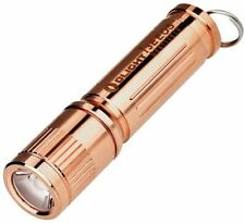NEW OLIGHT LED FLASHLIGHT I3E-CU EOS RAW COPPER MONO OUTPUT 120 LUMEN SPCL EDT.