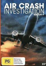 Air Crash Investigations:  Season 9 (2 Disc DVD ) BRAND NEW REGION ALL