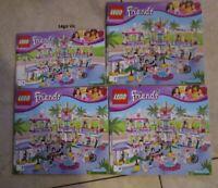 Lego 41058 Notice Instruction Friends Heartlake Shopping Mall tbe