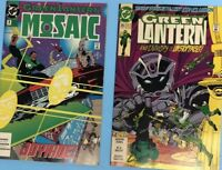DC Comics 1993 Green Lantern #8 And #35 Lot Of 2 Comic Books Not Graded Good