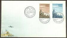Vatican City Sc# C22-3, High Values, Domes I (1953) on First Day Cover