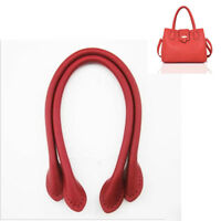 2 x Leather Handbag Handles for Handle Replacement or Bag Sewing Durable 3 Color