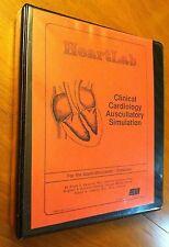Heart Lab Clinical Cardiology Auscultatory Sim Apple MAC Macintosh 512K 1988 ii