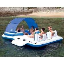 "Bestway 153""x108"" Tropical Breeze Large Floating Island Lounge 43105E (Open Box)"