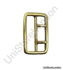 Buckle Sam Browne 2 Prong Buckle Brass-Gold for 57mm Wide Belt R1081