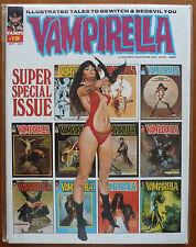 VAMPIRELLA..VOL.1 #19 SPECIAL..JOSE GONZALEZ..WARREN 1972 1ST PRINT..CENTS..VFN