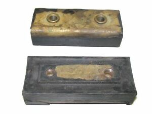 2 Rear Motor Mounts 1955-1961 GMC Trucks Diesel NEW