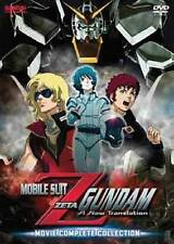 Mobile Suit Zeta Gundam: Movie Complete Collection (DVD, 2010, 3-Disc Set)