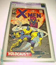 X MEN #26 CGC 9.4 ORIGINAL 1966 1ST SERIES RESTORED ONLY SMALL COLOR ON COVER