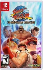 Street Fighter 30th Anniversary Collection (Nintendo Switch, 2018) UK PAL