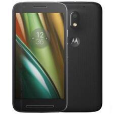 Téléphones mobiles noirs Motorola Moto E android
