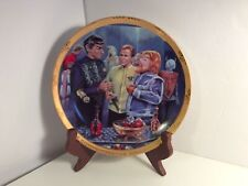 Star Trek Vintage 1987 Hamilton Collection Plate Journey To Babel