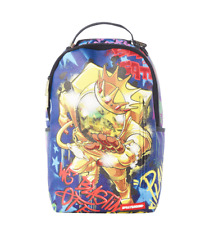 c814d8482 Sprayground Gold Astronaut on the Run Urban School Book Bag Backpack  910B1724
