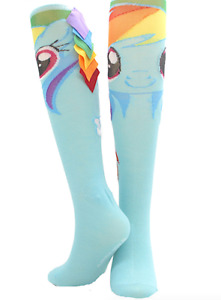 My Little Pony Rainbow Dash Ladies Knee Hi Socks Crazy Sock Day