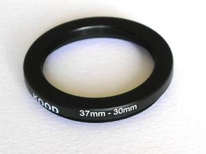 STEP DOWN ADAPTER 37MM-30MM STEPPING RING 37 TO 30MM 37-30 STEP DOWN RING