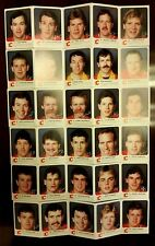 Complete Set of 30 1985-86 Flames Red Rooster Al MacInnis Mike Vernon L McDonald