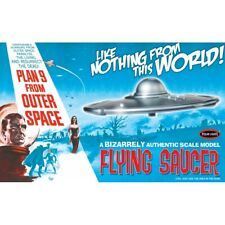 Plan 9 from Outer Space Flying Saucer 1:48 Scale Model Kit Polar Lights