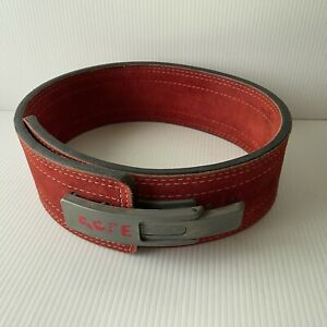 Inzer Forever Lever Belt 13 mm Leather Triple Stitched Adjustable Powerlifting
